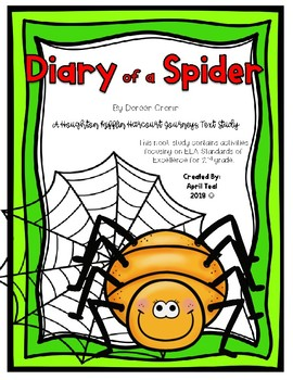 """Diary of a Spider"" By Doreen Cronin Story Pack"