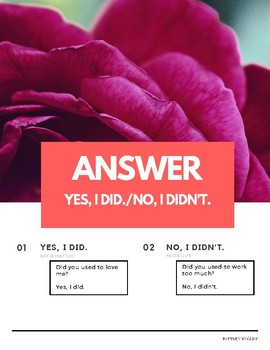 """""""Did you use to"""" Use/Used to Verb Pattern English (w Korean translation)"""