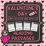 *Differentiated* Valentine's Day Reading Passages (Fiction