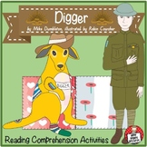"""Digger"" by Mike Dumbleton - Literacy Activities - includes 4H Reading Strategy"