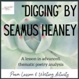 """""""Digging"""" Poem Study"""