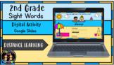 (Digital) Beach Sand 2nd Grade Sight Words (Google Slides)