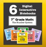 7th Grade Math - Digital Interactive Notebook BUNDLE! (The