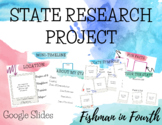 Google Slides State Research Project