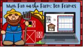 (Digital) Math Fun on the Farm Ten Frames (1-20) (Google Slides)Google Classroom