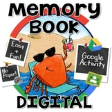 Digital Memory Book with Hashtags & Photos ~ End of Year  Google Activity #2017