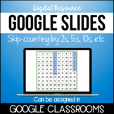*Digital Resource* Skip-Counting by 2s, 5s, 10s, 25s in GOOGLE SLIDES