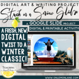 Digital Trapped in a Snow Globe Writing Christmas Crafts