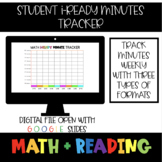 *Digital* iReady Weekly/Daily Minute Trackers