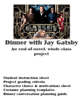 """""""Dinner with Jay Gatsby"""""""