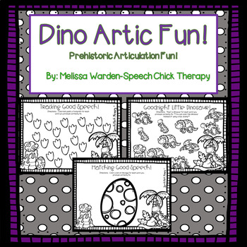 Dino Artic Fun! Articulation Packet