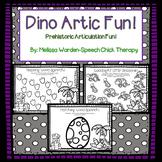 Dino Artic Fun! Articulation Packet