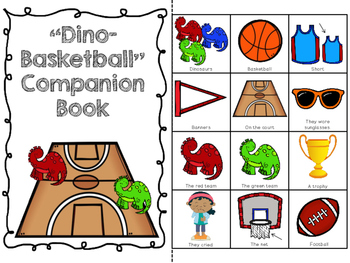 """Dino-Basketball"" Companion Pack: A Story Retelling Guide"