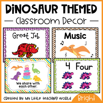 {Dinosaur Theme} Classroom Decor