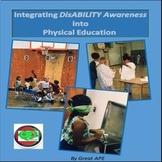 DisABILITY Awareness Unit Plans