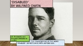 'Disabled' by Wilfred Owen
