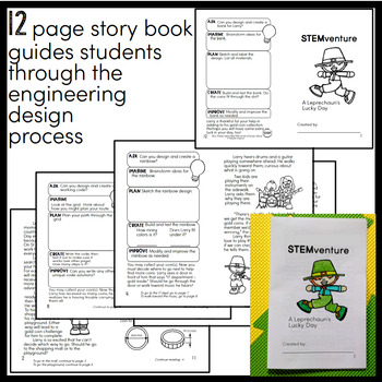 St. Patrick's Day STEM Activities - Choose Your Own STEMventure