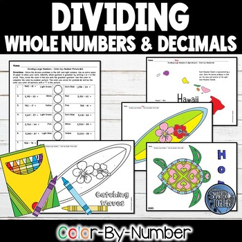 Division of Large Numbers and Decimals