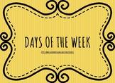 [Display] Days Of The Week