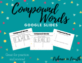 |Distance Learning| Compound Words Practice and Review Goo