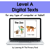 {Distance Learning} Digital Level A Books
