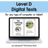 {Distance Learning} Digital Level D Books