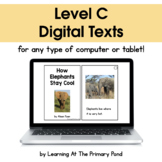{Distance Learning} Digital Level C Books