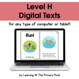 {Distance Learning} Digital Level H Books