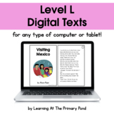 {Distance Learning} Digital Level L Books