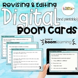 {Distance Learning} Digital (and printable) Boom! Revising