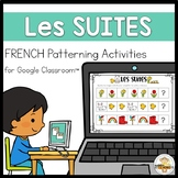(Distance Learning)- FRENCH Digital Patterning Activities