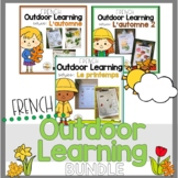 (Distance Learning)- FRENCH Outdoor Learning Growing Bundle