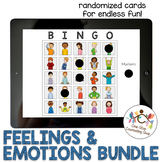 *Distance Learning* Feelings & Emotions Bingo Multiage Bundle
