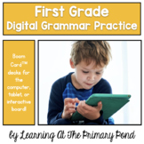 {Distance Learning} First Grade Grammar Games (BoomCards™)