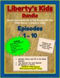 (Distance Learning) - Liberty's Kids BUNDLE #1-10 (Google