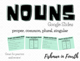 |Distance Learning| Nouns Interactive Google Slide Activities