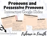 |Distance Learning| Pronouns and Possessive Pronouns Inter