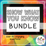 *Distance Learning* Show What You Know Complete Bundle