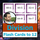 ÷ ÷ ÷ Division Flash Cards to 12 ÷ ÷ ÷