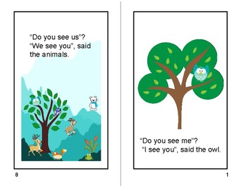 "Little Readers Sight Word Book (""Do You See Me""?)"