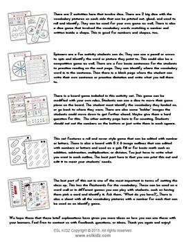 'Doctors' Worksheet Set / Activity Packet + flashcards