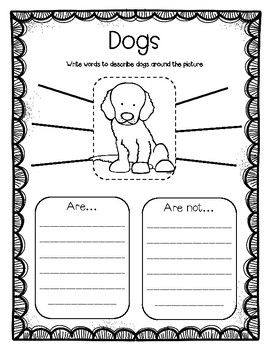 """Dogs"" A Houghton Mifflin Harcourt Journeys Text Study"