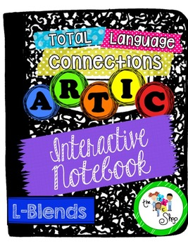 $$DollarDeals$$ Articulation Interactive Notebook Mini - L-Blends