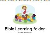 Dollardeal Pre-K Bible Learning Pack | Preschool Busy Bind