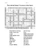 """Dominik the Donkey"" Vocabulary Word Search"