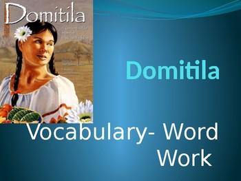 """Domitila"" Vocabulary: Cinderella Guidebook Unit"