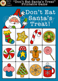 """Don't Eat Santa's Treat!"" Printable Game [Don't Eat Pete]"