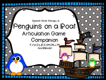 Penguins on a Boat Articulation Game Companion