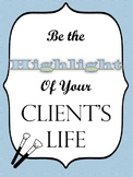 Be The Highlight Cosmetology Poster