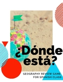 ¿Dónde está? Geography Review Game